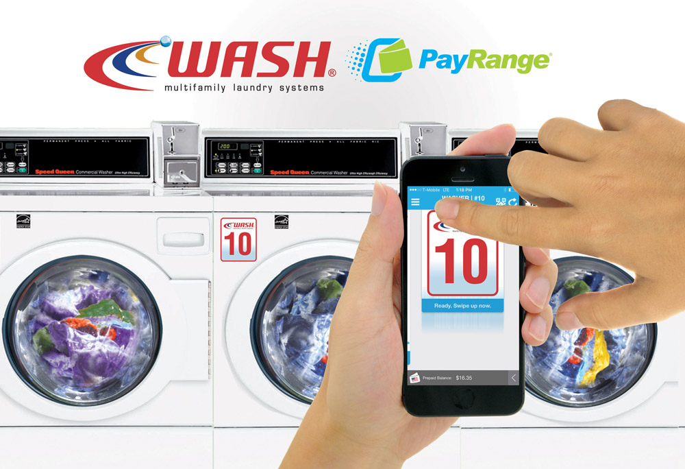 WASH Upgrades Common-Area Laundry Rooms with PayRange Mobile