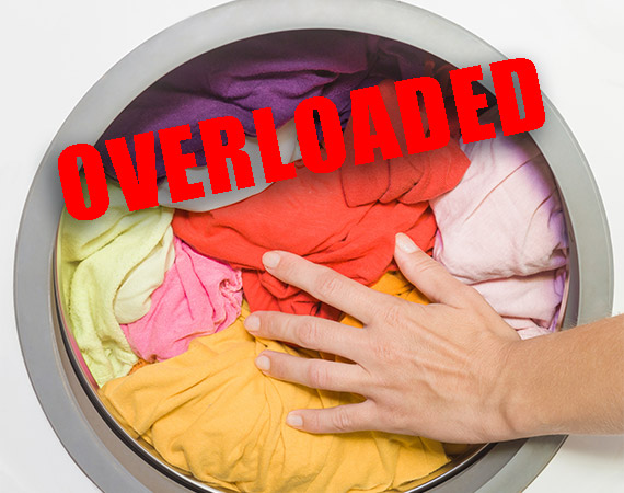 Washer Error – Off Balance / Overloaded