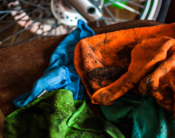 Don't Dry Items with Flammable  Chemicals